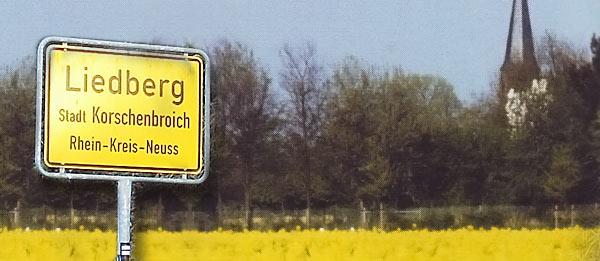 Willkommen in Liedberg!